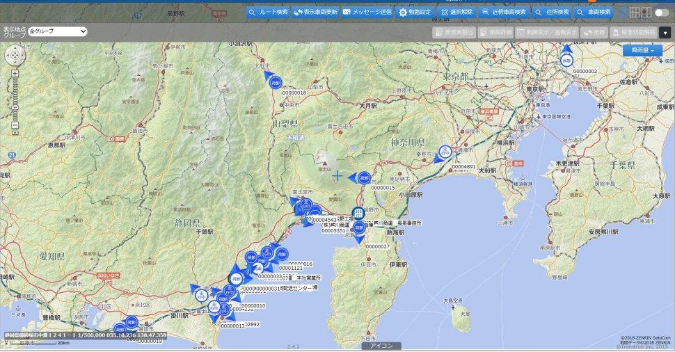 デジタル地図画像